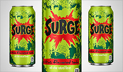 Remember Surge soda? It's back