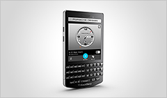 A BlackBerry ... designed by Porsche