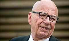 Rupert Murdoch quiet on Scotland vote