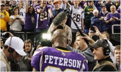 Adrian Peterson causes chaos for fantasy football
