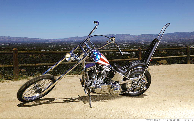 Easy Rider S Captain America Up For Auction Sep 17 2014