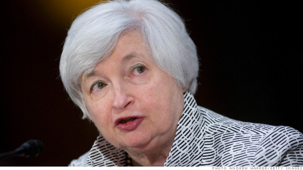 Thank Janet Yellen: stocks hit new record