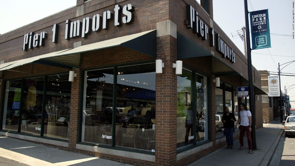 pier imports pier1 earnings fall pir halves cautious analysts tale leaves shares turner marketwatch