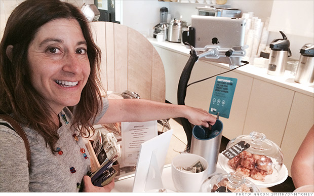 Digital tip jar coming to a coffee shop near you