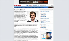 New editor of Politico: Susan Glasser