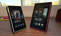 Amazon releases new Fire tablets and e-readers