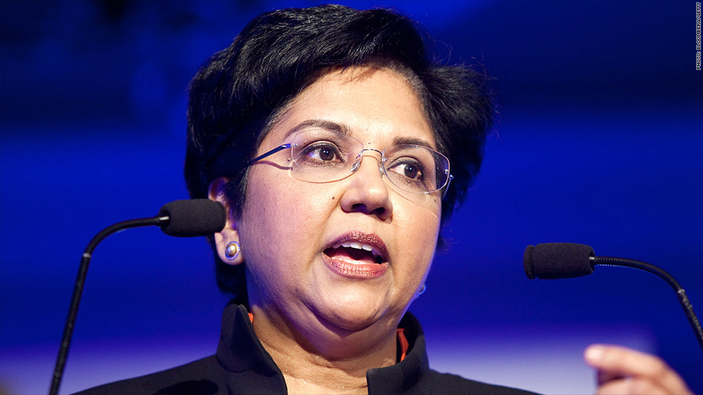 entrepreunership of indra nooyi Indra nooyi is chairman and chief executive officer of pepsico in its global food and beverage portfolio, pepsico has 22 brands that generate more than $1 billion.