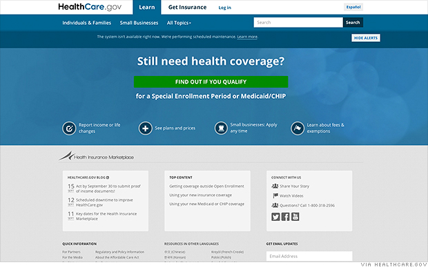 As open enrollment nears, Obamacare website still isn't totally safe