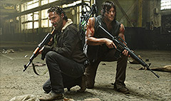 The weapons of The Walking Dead