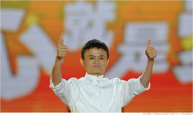 Boom: Alibaba surges 38% in huge IPO debut