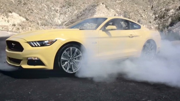 2015 Mustang's asphalt-peeling power goes modern