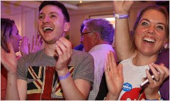 Markets rally as Scotland votes to stay