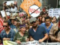 Thousands rally for action on climate