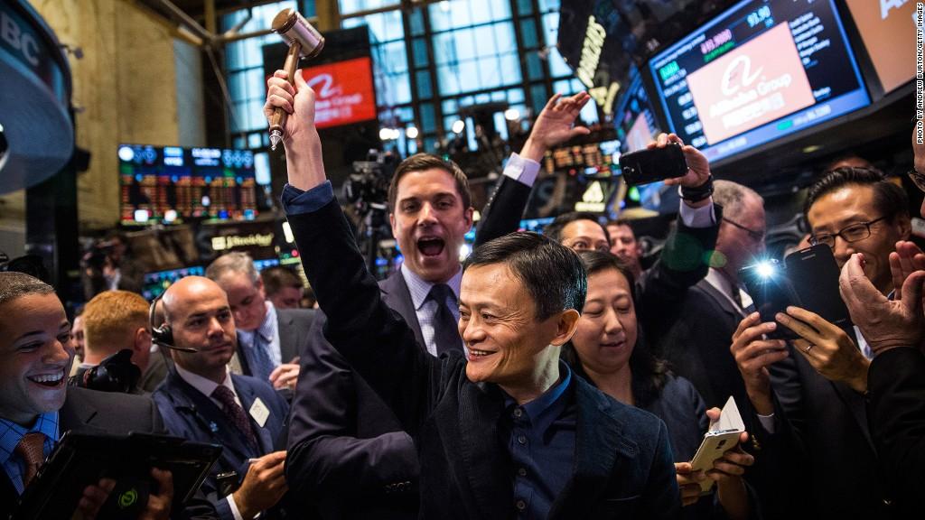 Alibaba IPO China Jack Ma