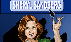 Sheryl Sandberg stars in a comic book