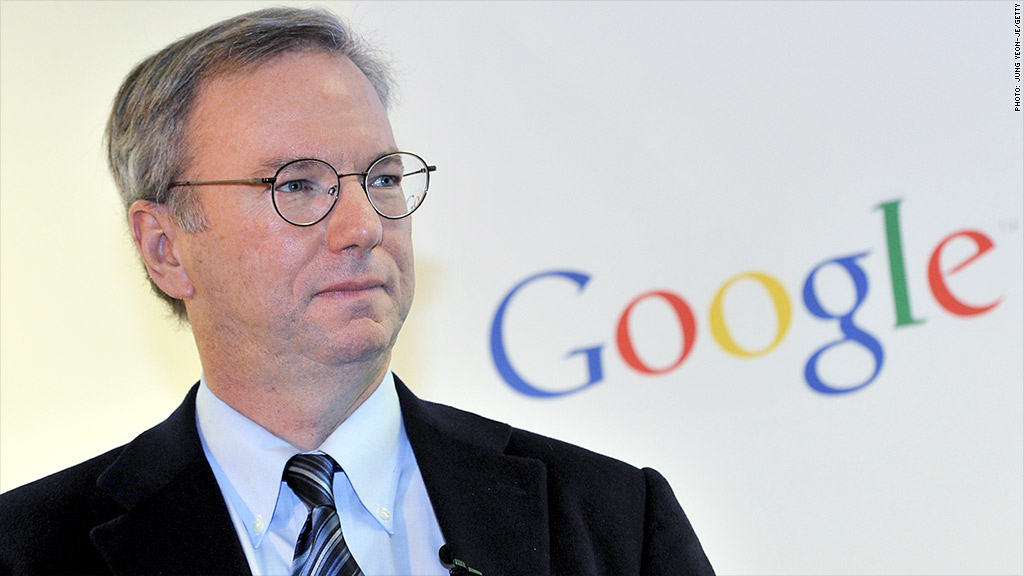 Eric Schmidt's artificial intelligence prediction