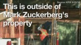 Mark Zuckerberg's long, loud renovation