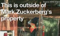 Mark Zuckerberg's long, loud renovation