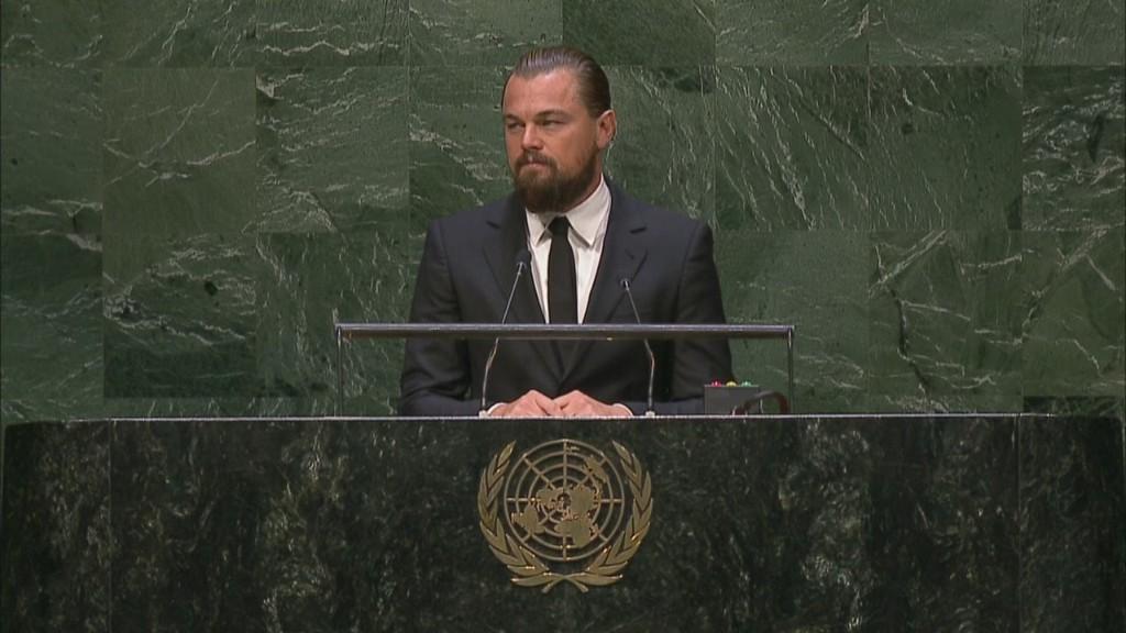 DiCaprio challenges UN on climate change