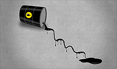 Oil prices plunging despite ISIS