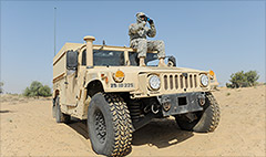 U.S. blows up its own Humvees