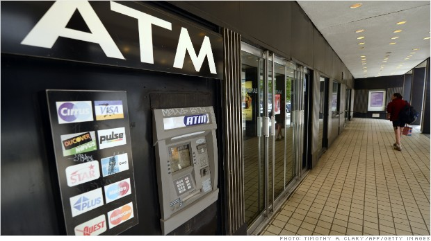 $4.35 to get your own money - ATM fees surge again