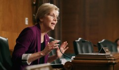 Elizabeth Warren wants to probe if Fed is too close to big banks