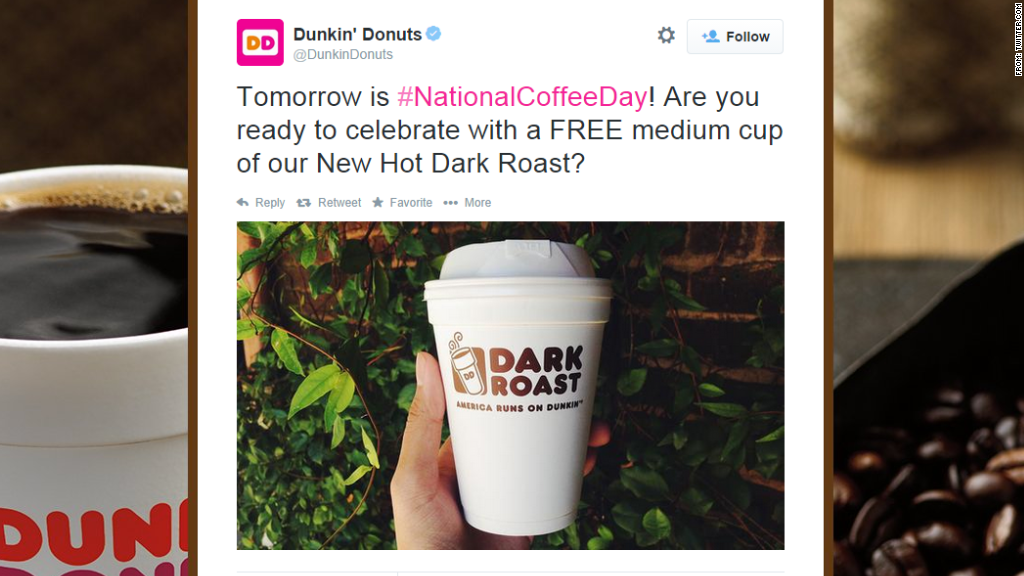 coffee dunkin