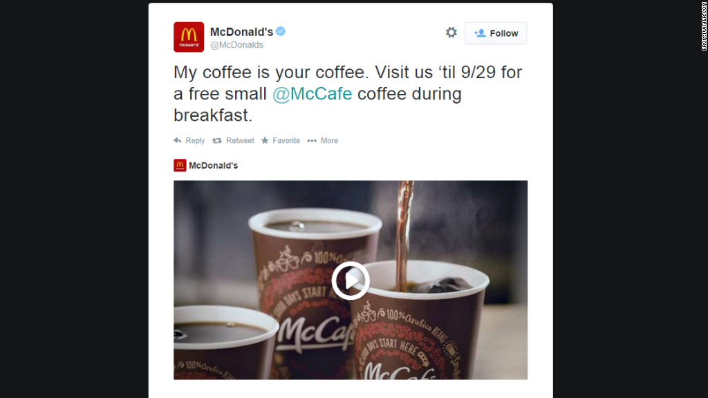 coffee mcdonalds