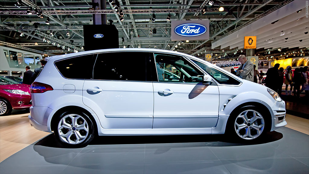ford says c max recall will cost 500 million. Black Bedroom Furniture Sets. Home Design Ideas