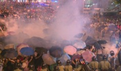 Hong Kong protests censored in China