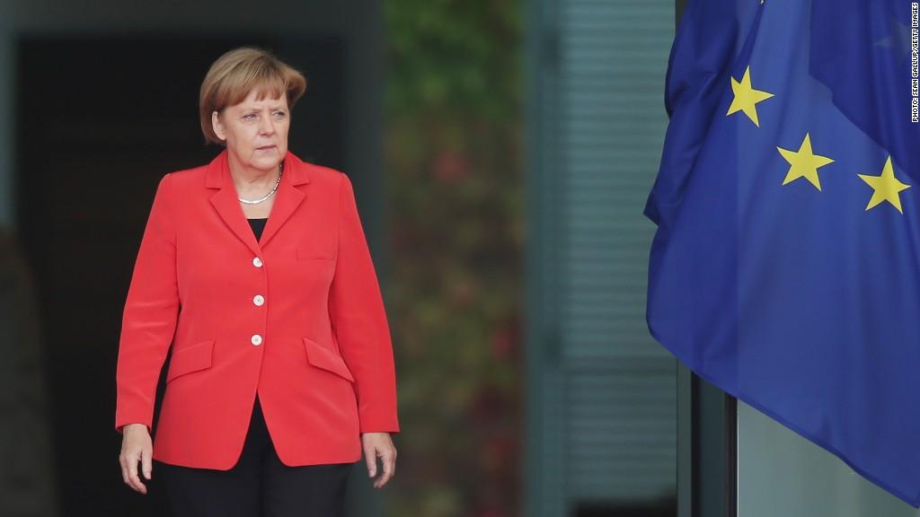 merkel germany economy