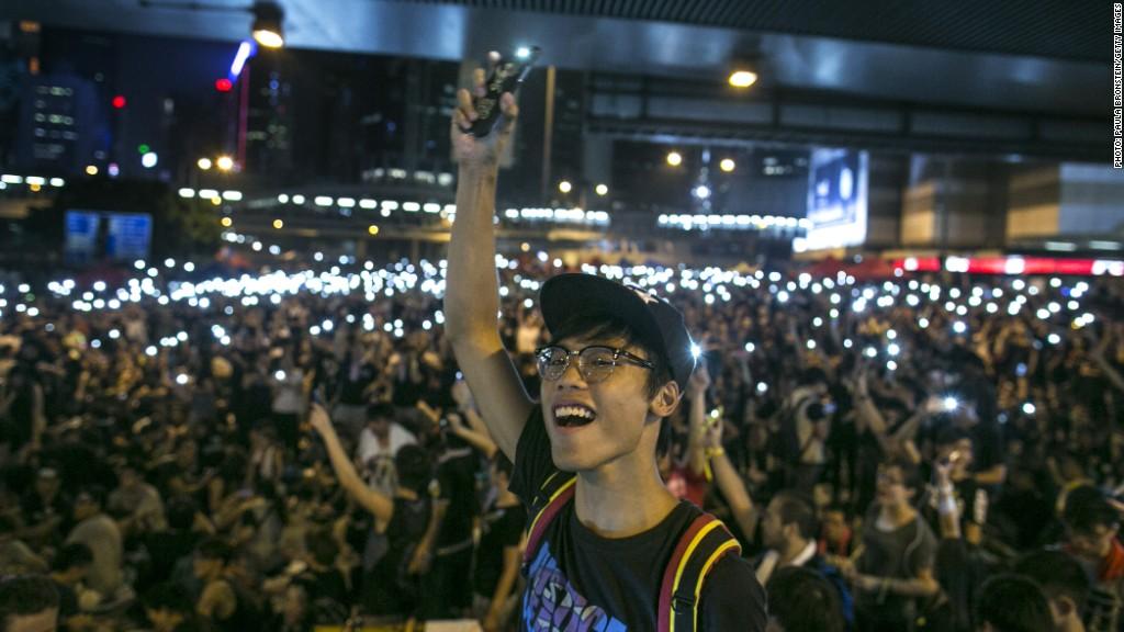 Meet the man connecting Hong Kong protesters