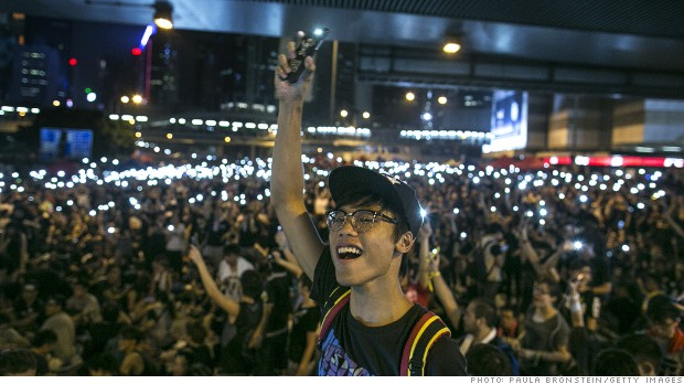 The essential app for Hong Kong protesters