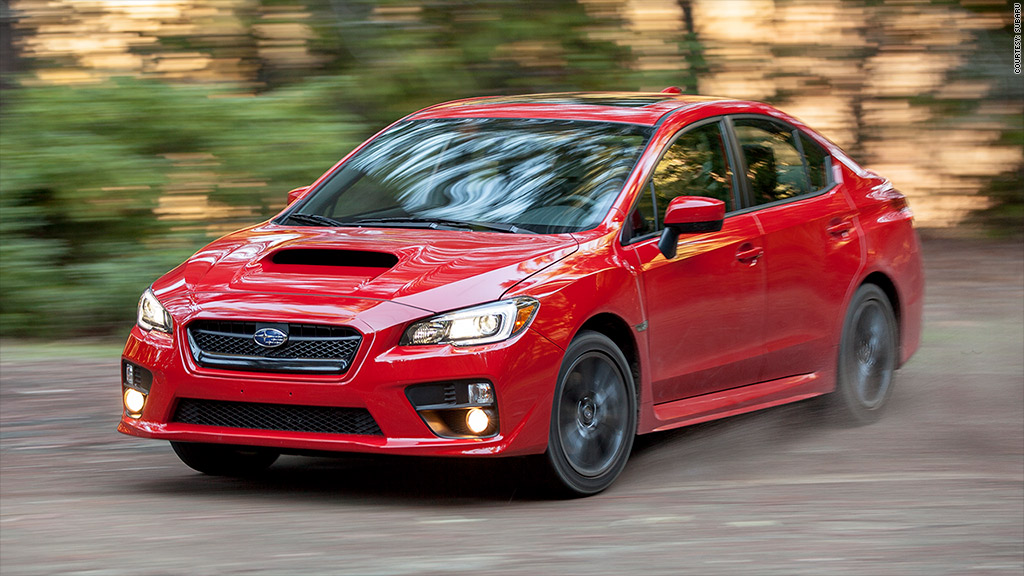Subaru WRX - Here are the 20 most ticketed cars in America - CNNMoney