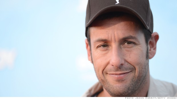 Adam Sandler is making 4 movies for Netflix