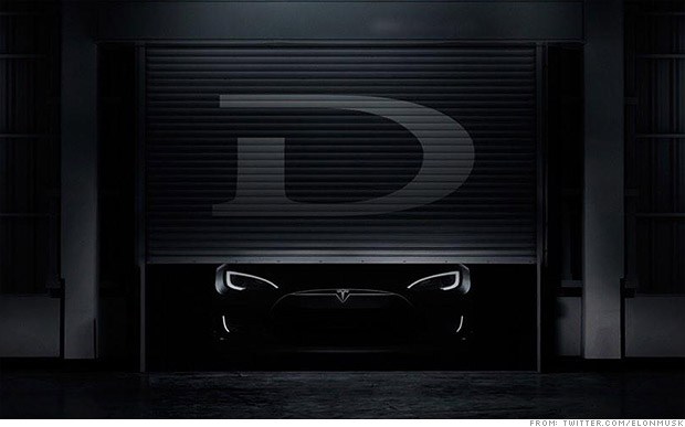 Musk teases something new from Tesla: The D