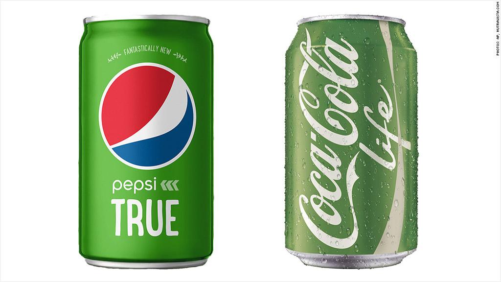 pepsi coke natural