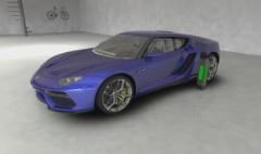 Lamborghini's plug-in hybrid concept