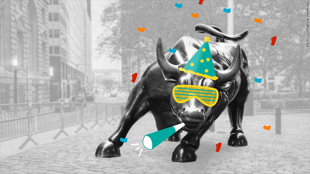Boom! The Dow surged more than 260 points