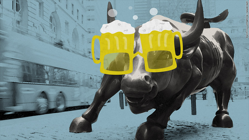 beer goggles bull