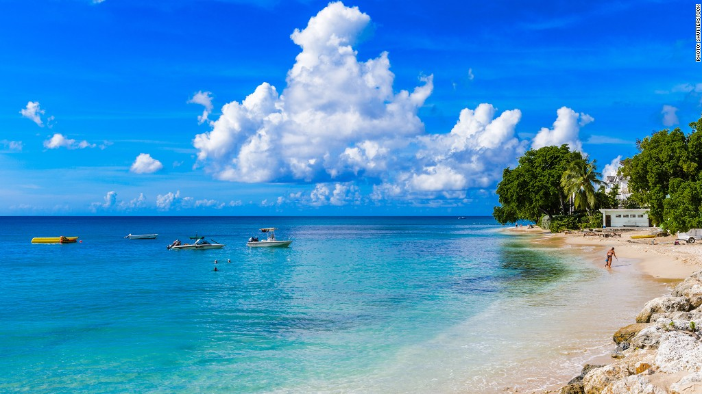 Barbados hottest places to travel this winter cnnmoney for Winter vacation spots in the us