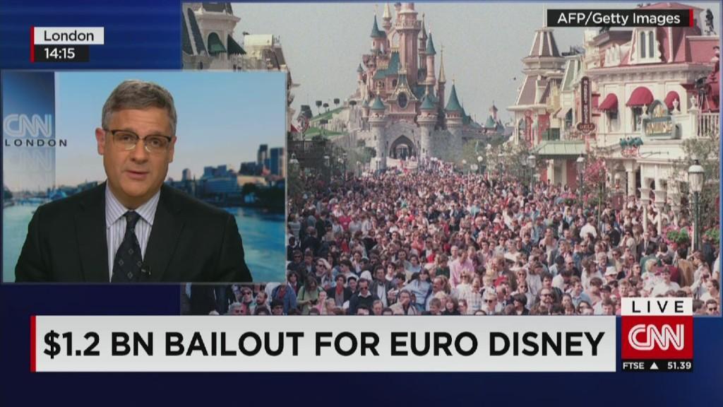 Disney's nightmare in Europe