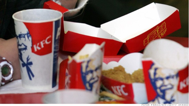 KFC parent cuts profit expectations in half