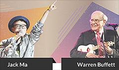 Battle of the billionaires: Jack Ma vs. Warren Buffett