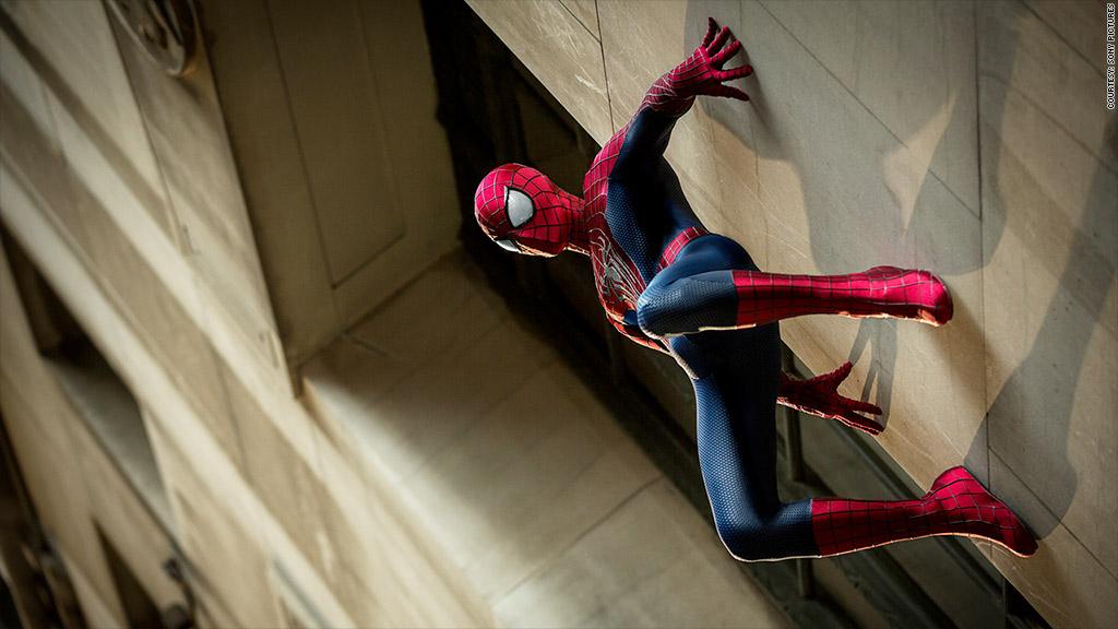 amazing spiderman 2 wall