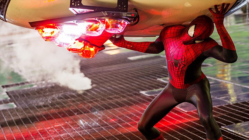 amazing spiderman 2 action