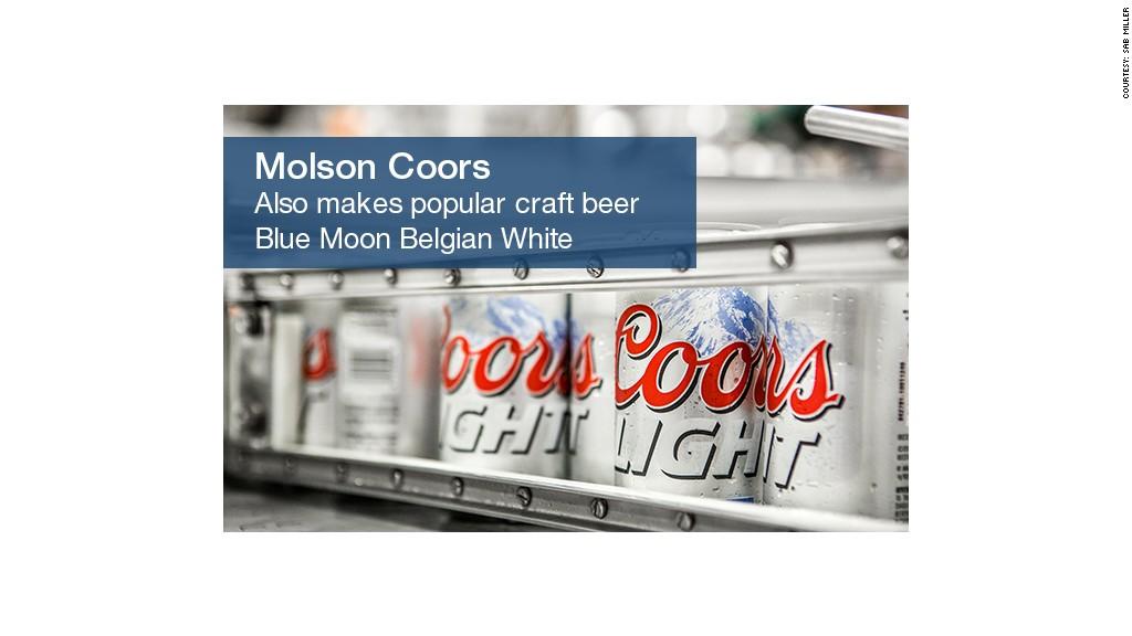 beer molson coors