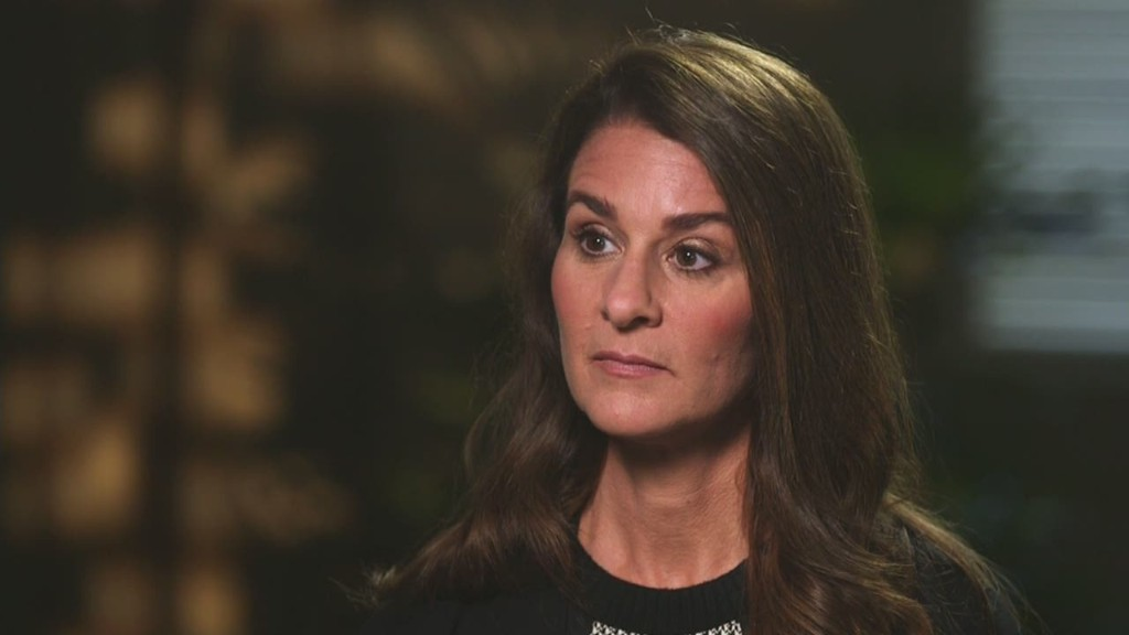 Melinda Gates on Ebola: 'Vast inequities'