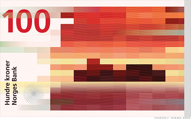 New Currency Norway Norway's New Currency is Art